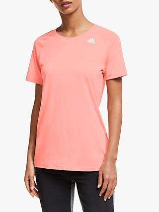 adidas Prime 2.0 Short Sleeve Training Top, Pink