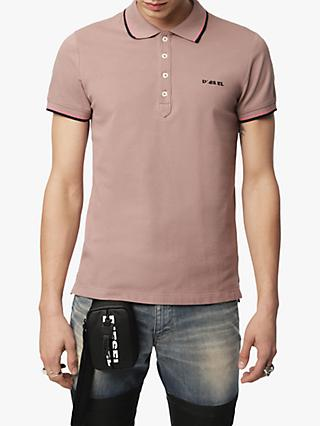 7ee0af146 Diesel T-Randy Broken Slim Fit Polo Shirt, Pink