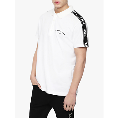 Diesel T-GOROU Polo Shirt, White