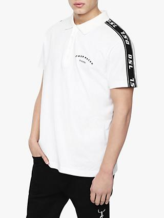 Diesel T-GOROU Polo Shirt, White