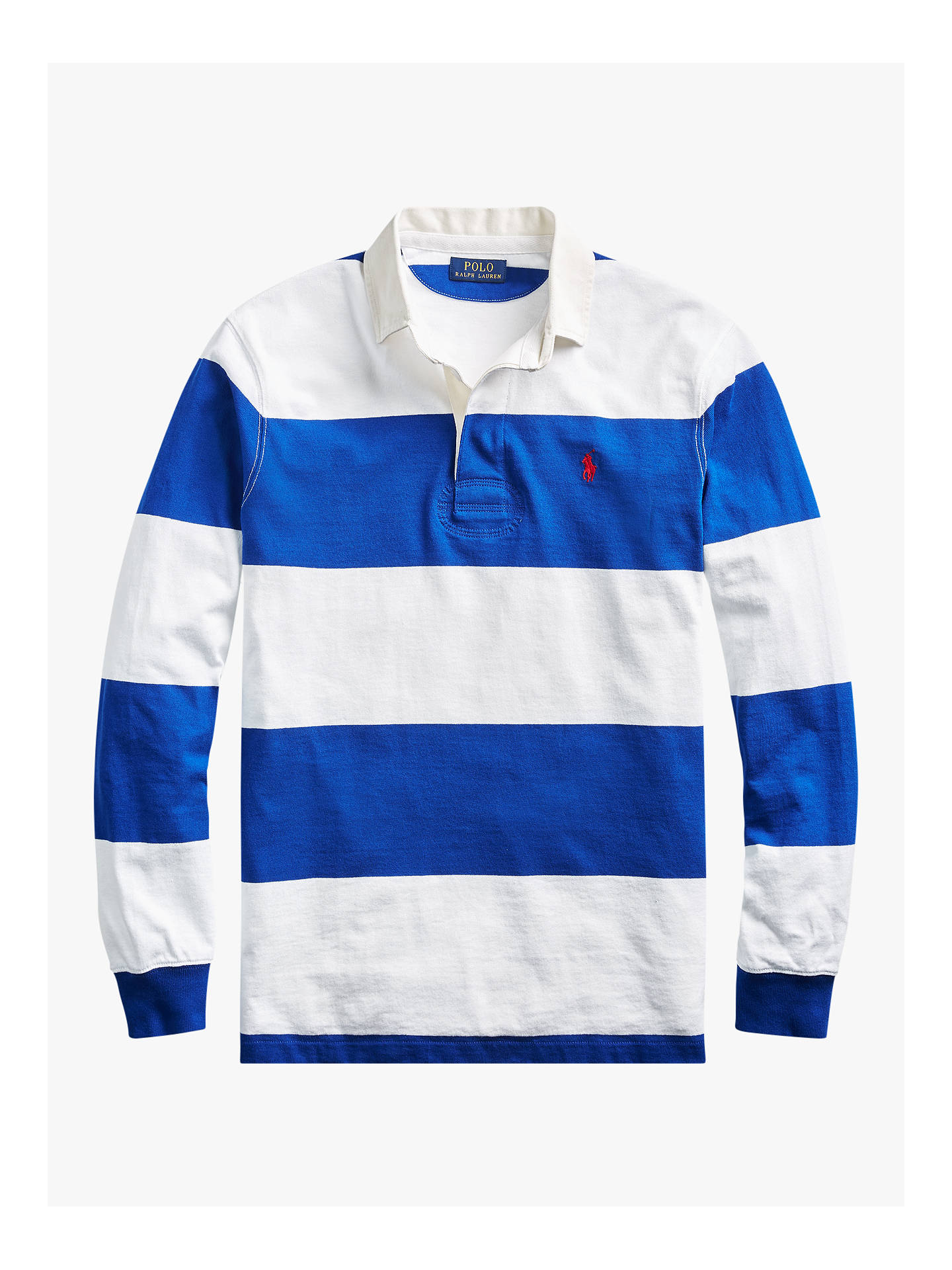 Lewis Lauren Stripe Long Rugby At John Ralph Sleeve Polo Shirt b7yv6IfgYm
