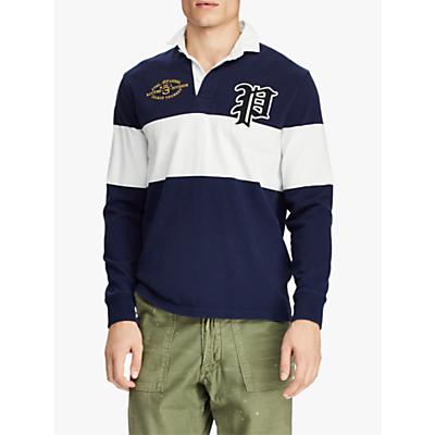 Polo Ralph Lauren Jersey Rugby Shirt, Cruise Navy