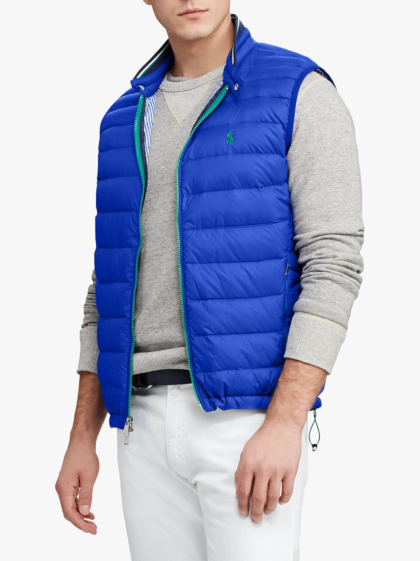 Star John Lauren Packable Down Ralph GiletSapphire At Polo Quilted roCdtshQxB