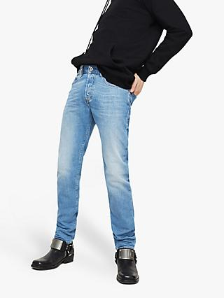 5a7f5197f4 Diesel Buster Tapered Jeans