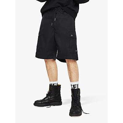 Diesel P-AIMI-P Cargo Shorts, Black