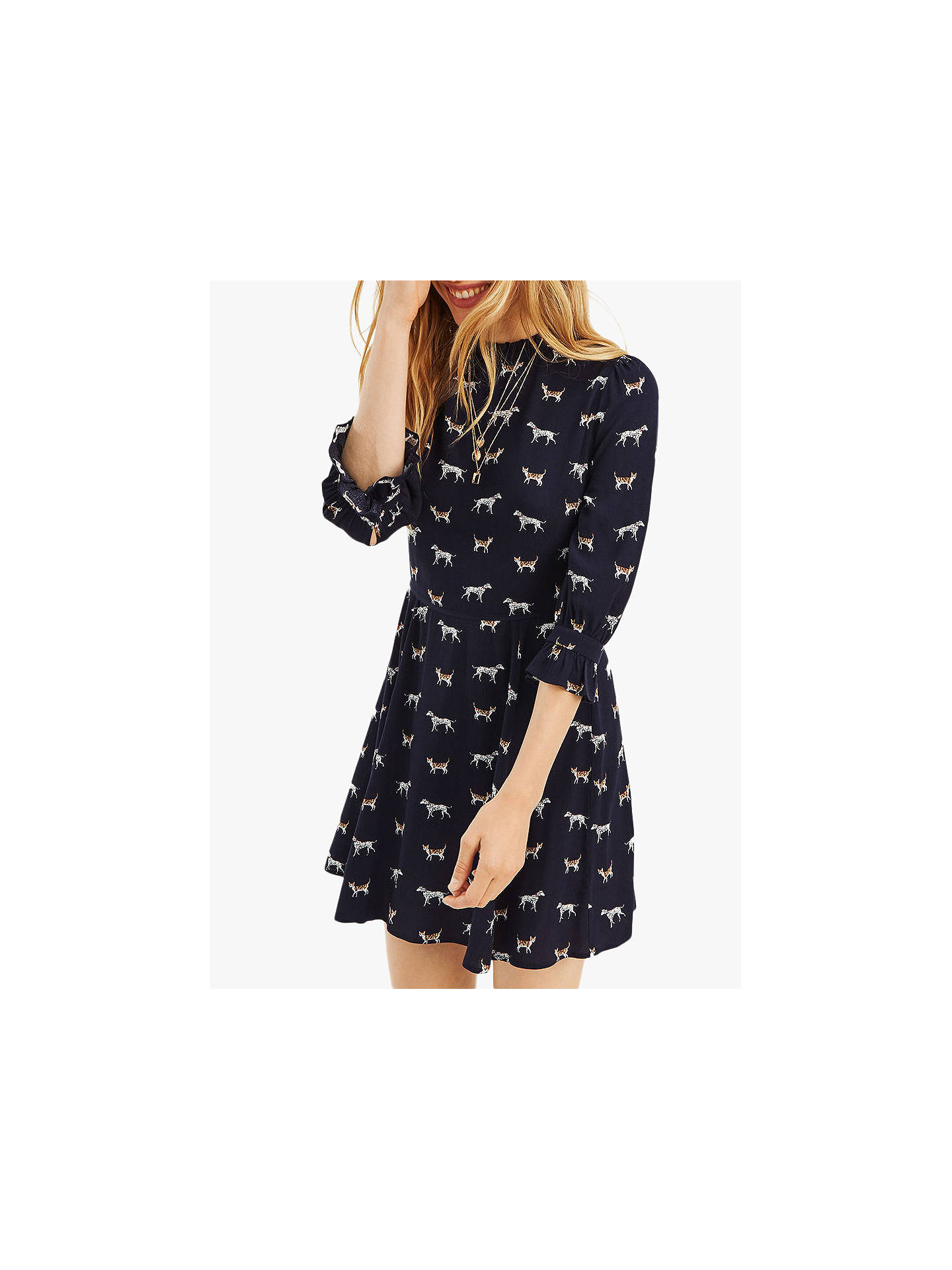 BuyOasis Cats and Dogs Skater Dress 2e3e1b9e7