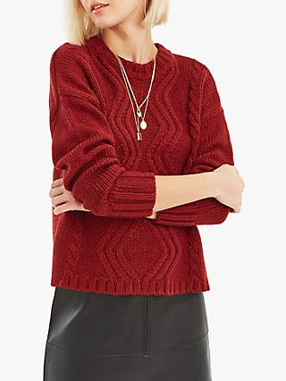 Oasis Hayley Cable Knit Jumper