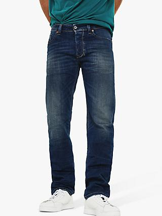 00a41c02 Diesel Teephar Slim Carrot Tapered Jeans, Blue 087AW