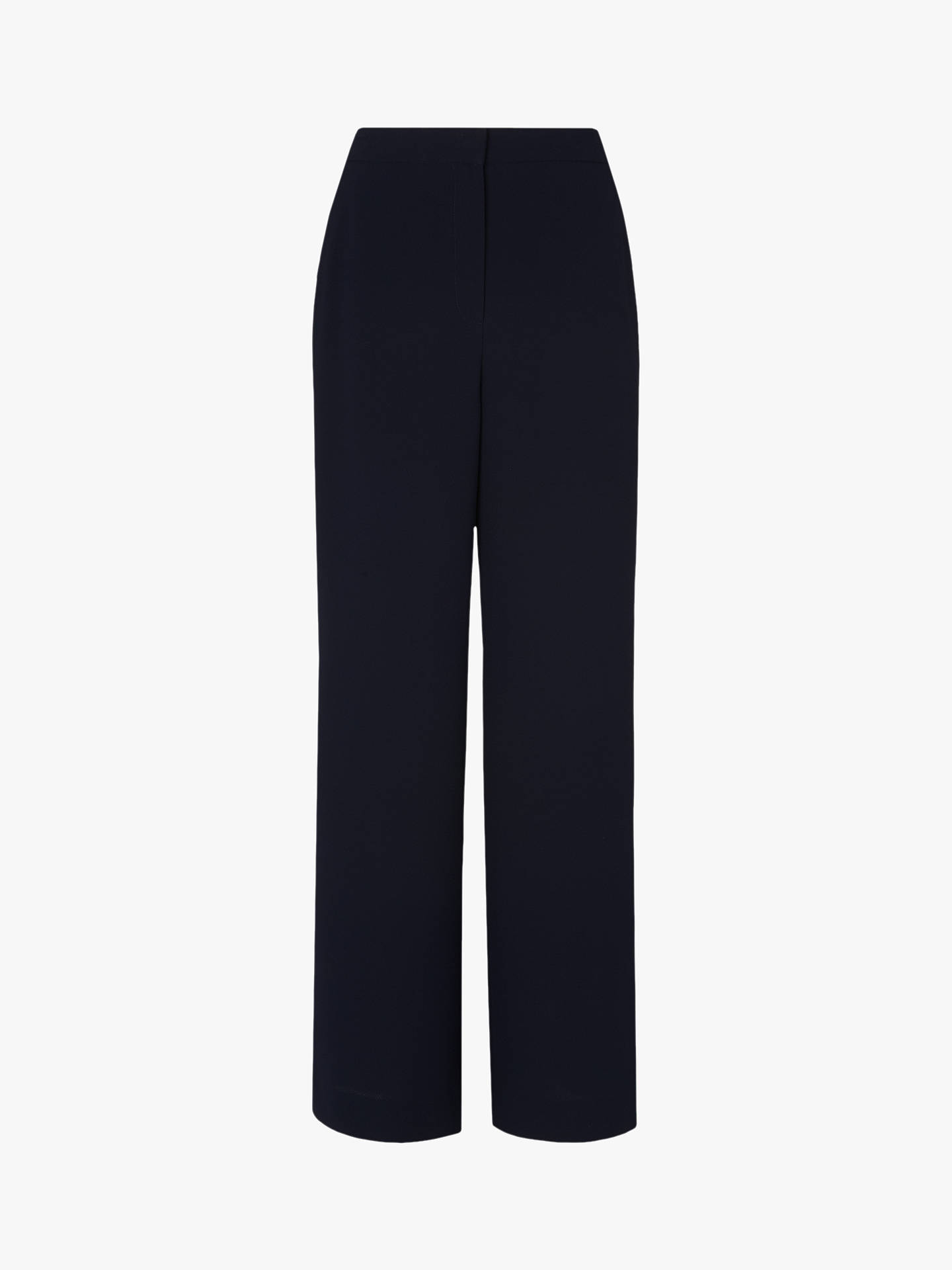 Buy L.K.Bennett Scarlett Trousers, Blue Navy, 6 Online at johnlewis.com