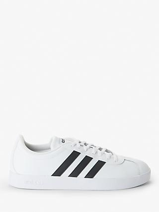 adidas VL 2.0 Court Men's Trainers, FTWR White/Core Black