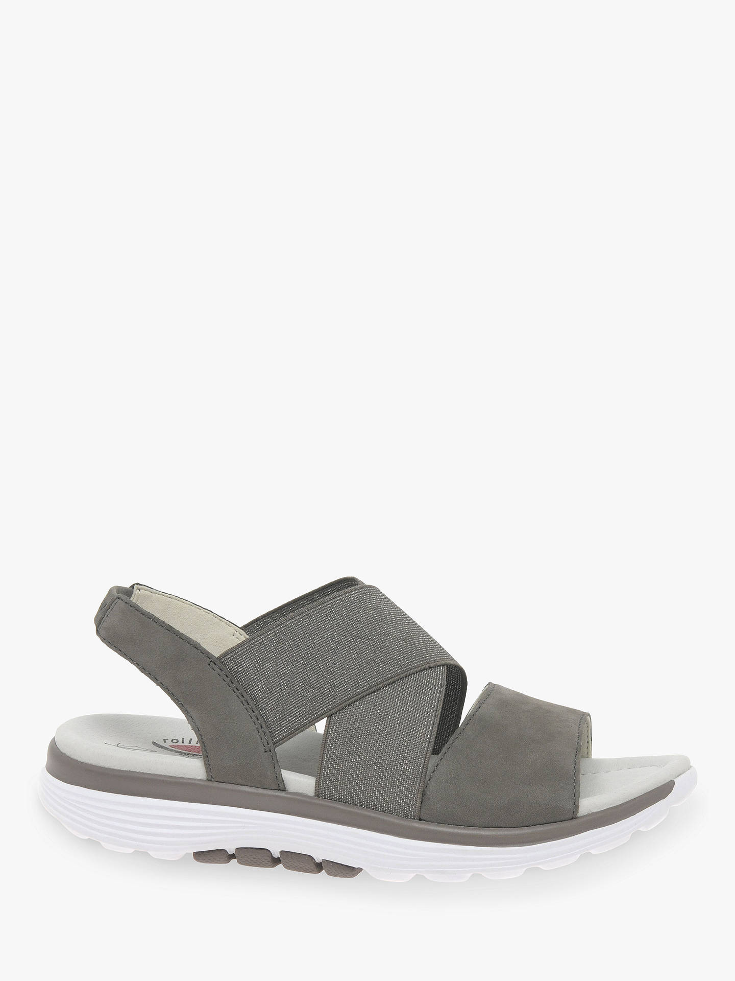 7718a160cde1ce BuyGabor Sacred Glitter Cross Strap Sandals