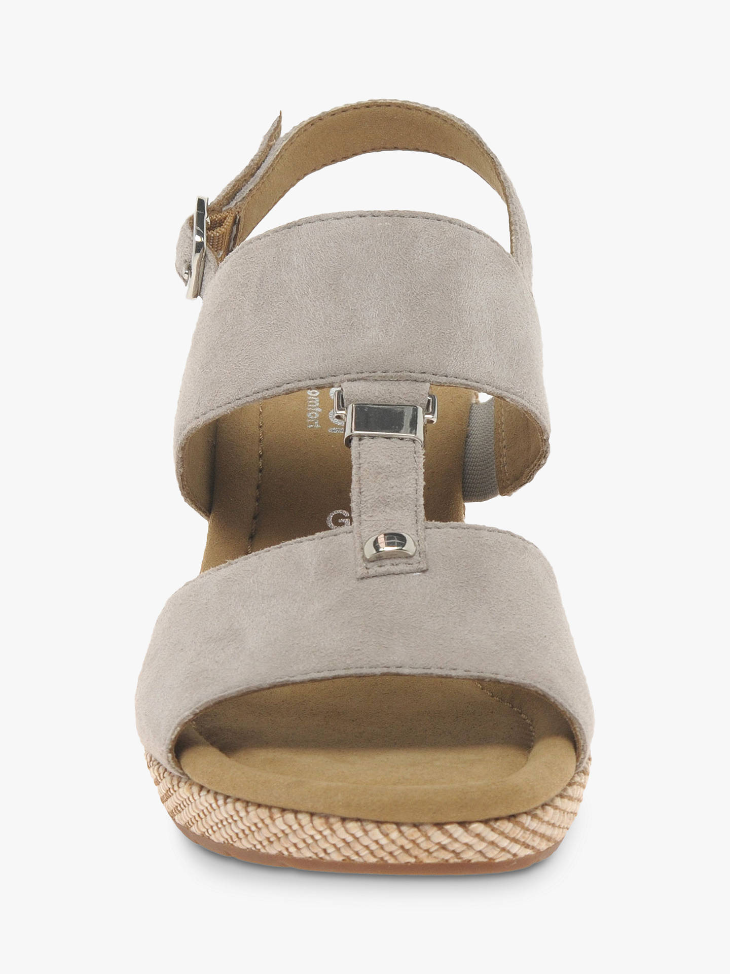 1f36fe0b19e5 Gabor Keira Wide Fit Wedge Sandals at John Lewis   Partners