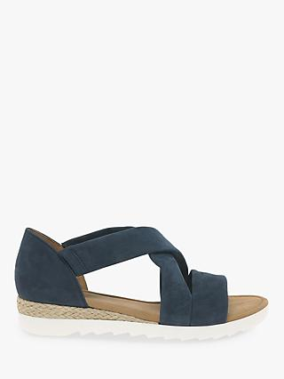 f46ea063625 Gabor Promise Wide Fit Cross Strap Sandals
