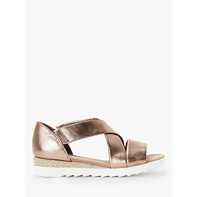 a0c9ffb8b32 Gabor Promise Wide Fit Low Wedge Sandals