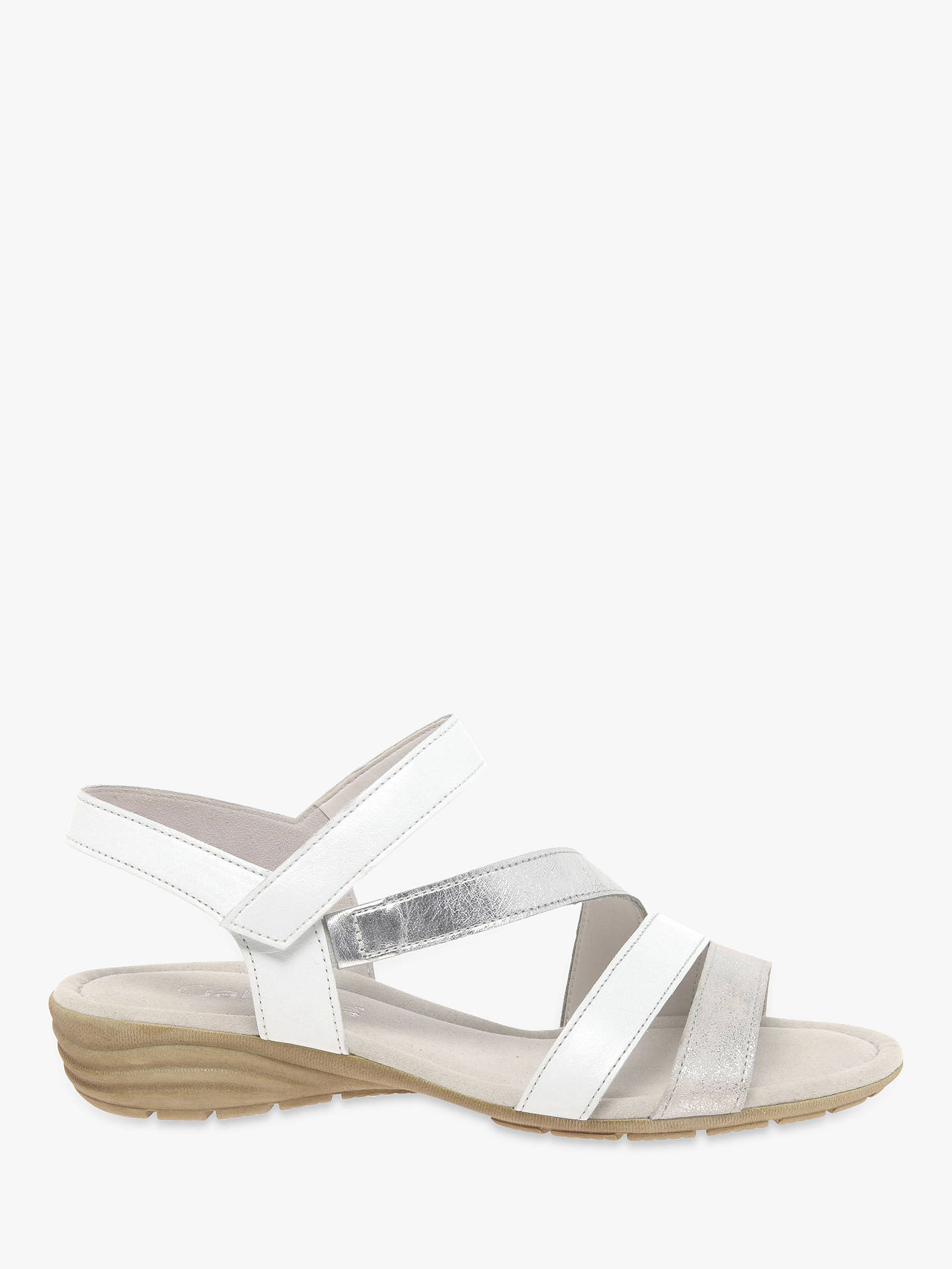 2c36344409c30b Gabor Earl Flat Heel Sandals at John Lewis   Partners