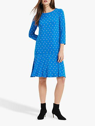 Phase Eight Umbrella Print Dress, Blue