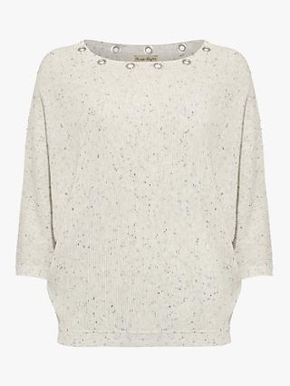 Phase Eight Floriana Jumper, Silver