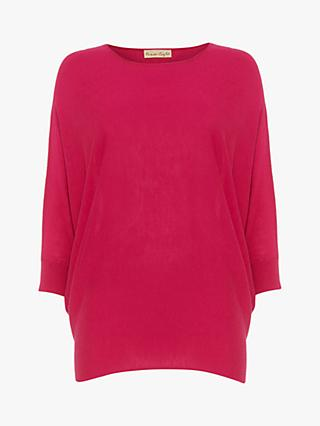 Phase Eight  Becca Jayne Batwing Knit Jumper, Hot Pink