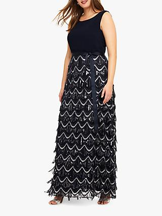 294c3b3bf50 Studio 8 Ariel Beaded Maxi Dress
