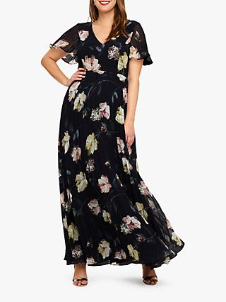 Studio 8 Megan Maxi Dress, Navy Multi