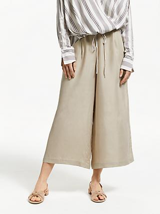 Modern Rarity Wide Leg Culottes, Natural