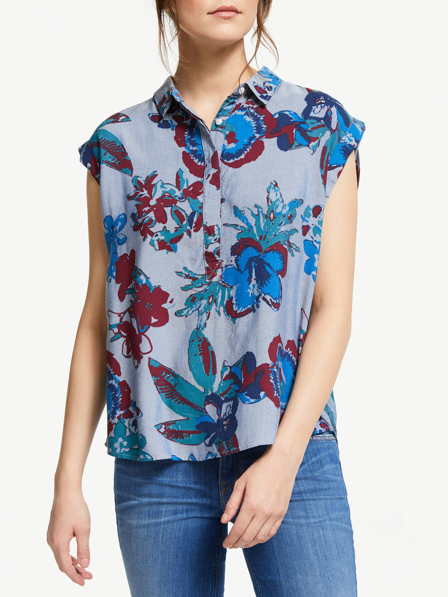 111849a3555 Buy Lee Sleeveless Floral Blouse
