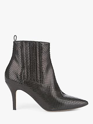 2934f87642b Mint Velvet Lori Snake Stiletto Heel Boots