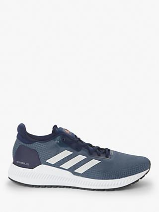 adidas Solar Blaze Men's Running Shoes, Collegiate Navy/Grey One/Solar Orange