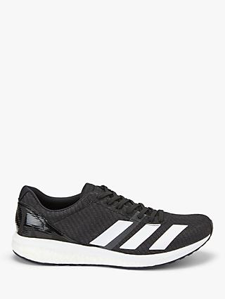 8f3104892 adidas Adizero Boston 8 Men's Running Shoes, Core Black/Cloud White/Grey Six