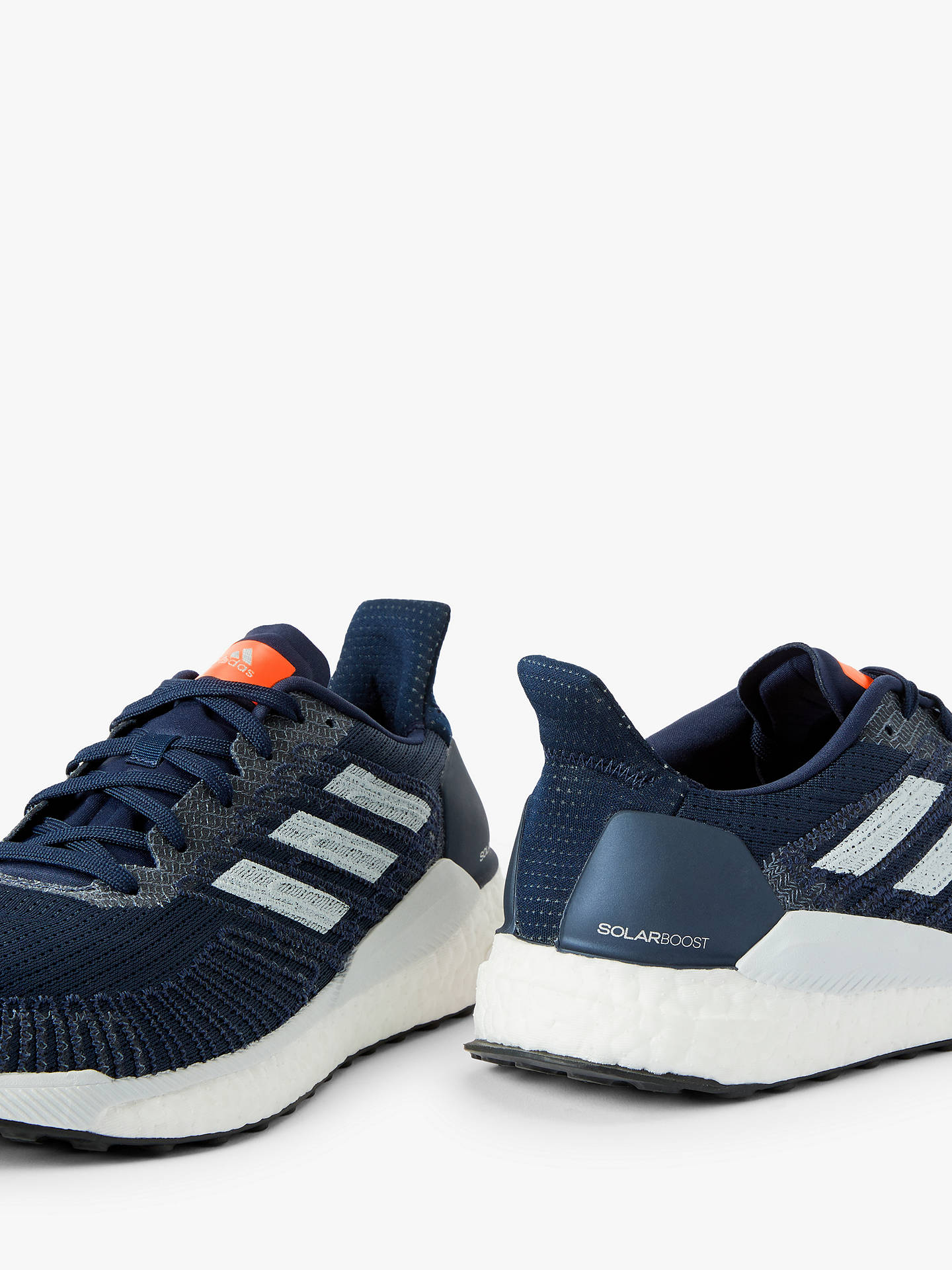 check out 07250 6ad7a adidas Solar Boost 19 Men's Running Shoes, Collegiate Navy/Blue Tint/Solar  Orange