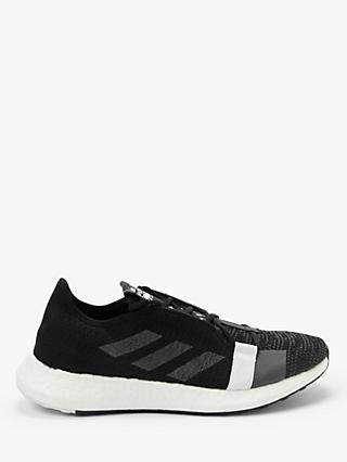 adidas Senseboost Go Men's Running Shoes, Core Black/Grey Five/FTWR White