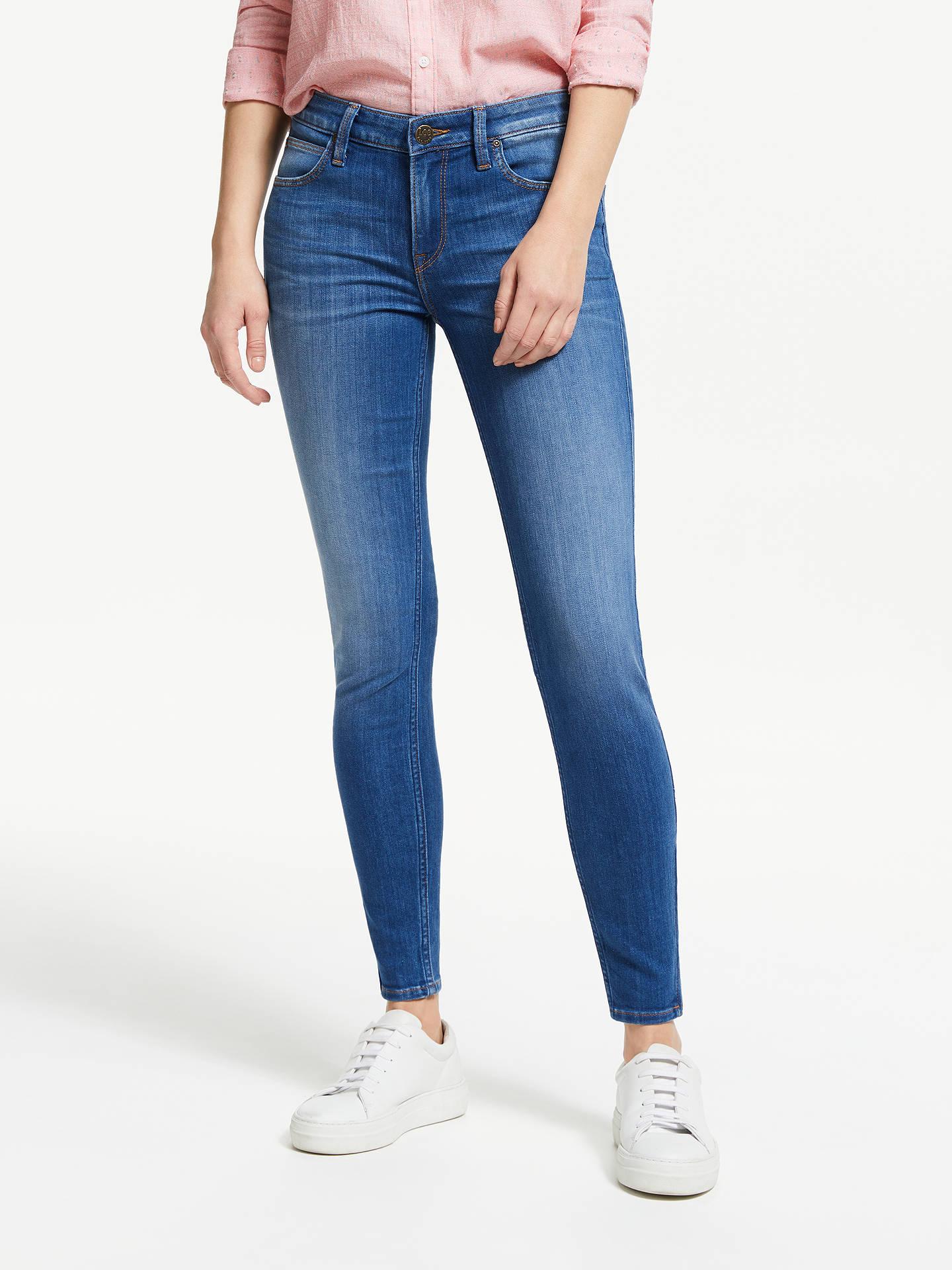 5944981f3da Lee Scarlett Mid Rise Cropped Skinny Jeans