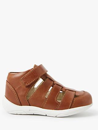 443107735355 John Lewis   Partners Children s Arlo Leather Sandals