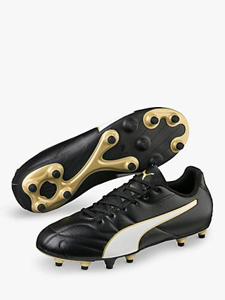 PUMA Children's Classico C II FG Football Boots, Black