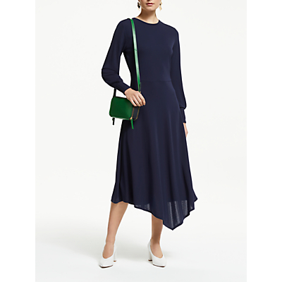 John Lewis & Partners Jersey Fit and Flare Dress