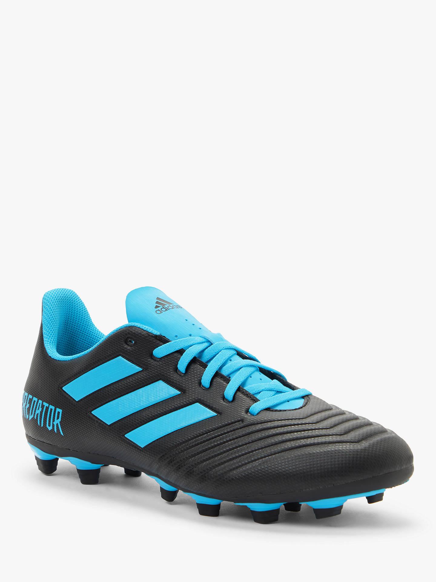adidas Predator 19.4 FxG Firm Ground Kids Football Soccer Boot Dark Script