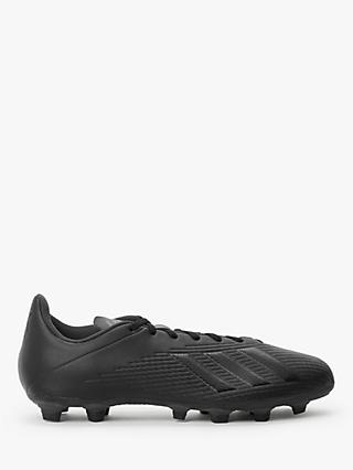 adidas X 19.4 Flexible Ground Men's Football Boots, Core Black/Utility Black