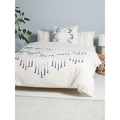 anthropologie eula bedding, blue