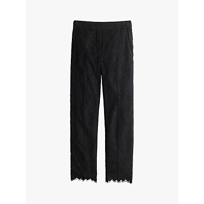 J.Crew Lace Trousers, Black