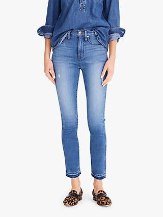 4dd7fe42b02 J.Crew High Rise Straight Slim Jeans