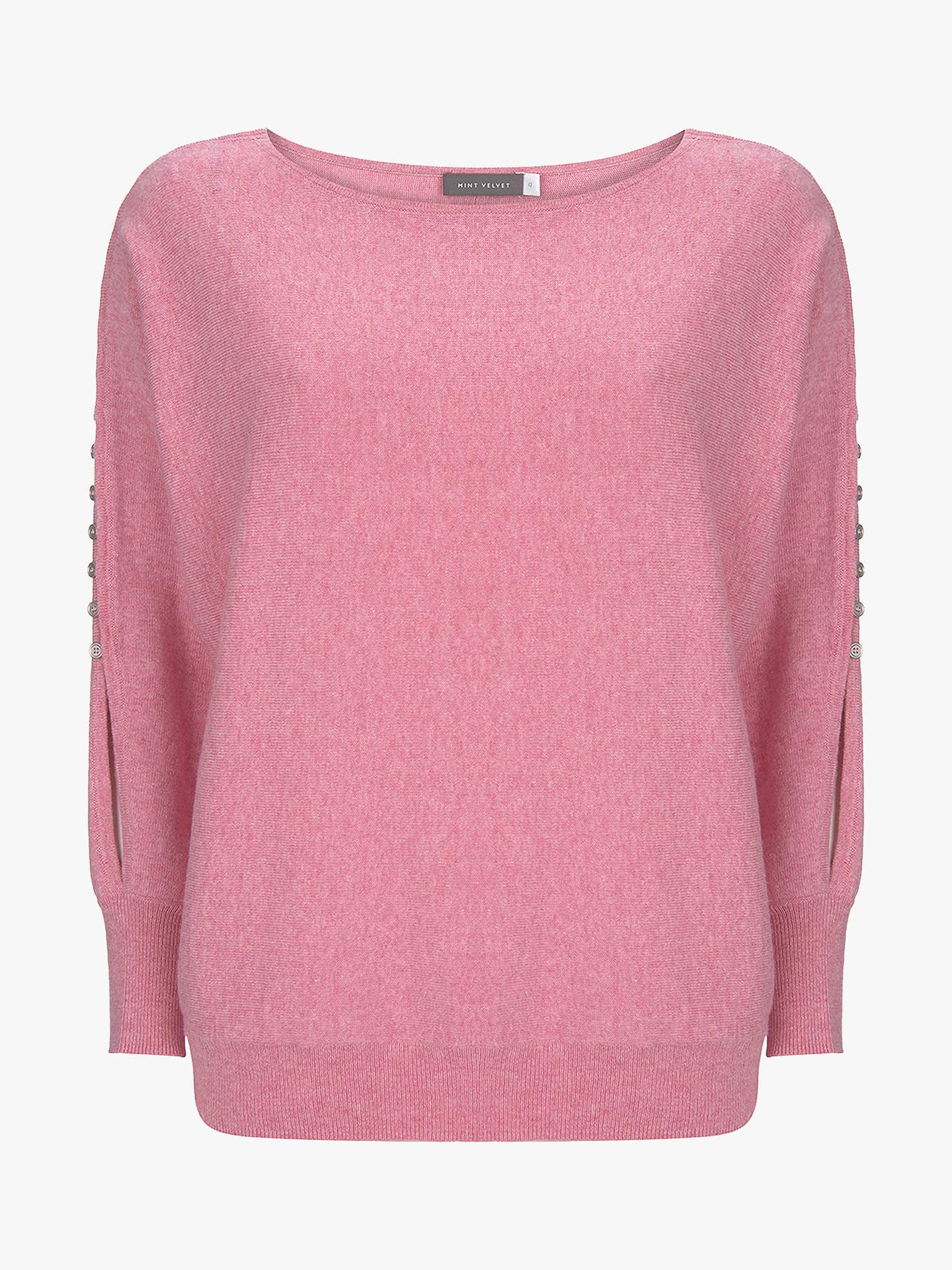 for whole family sale online innovative design Mint Velvet Rouleaux Jumper, Bubblegum Pink at John Lewis ...