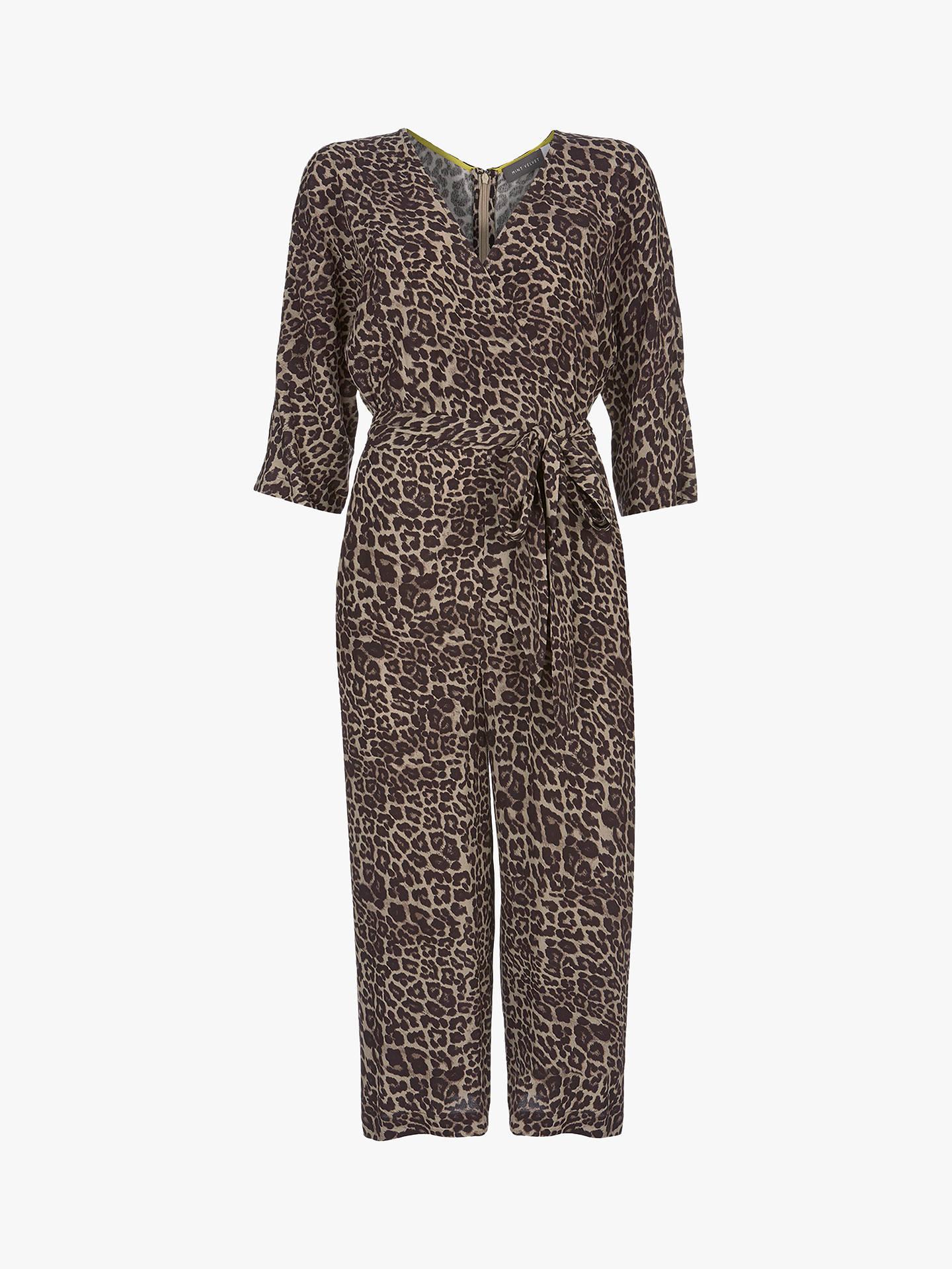 1c5ff0299c3d Buy Mint Velvet Animal Print Wrap Jumpsuit