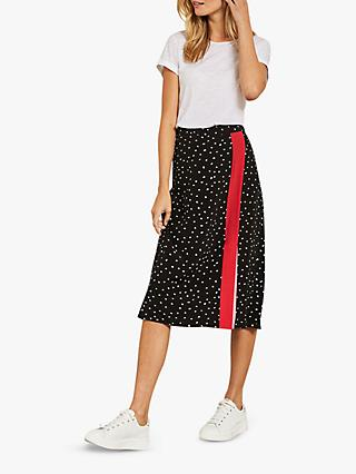 Mint Velvet Spot Pop Skirt, Multi