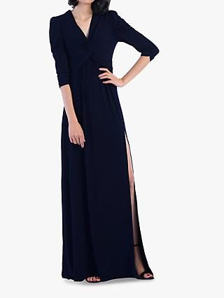 Jolie Moi Side Slit Maxi Dress