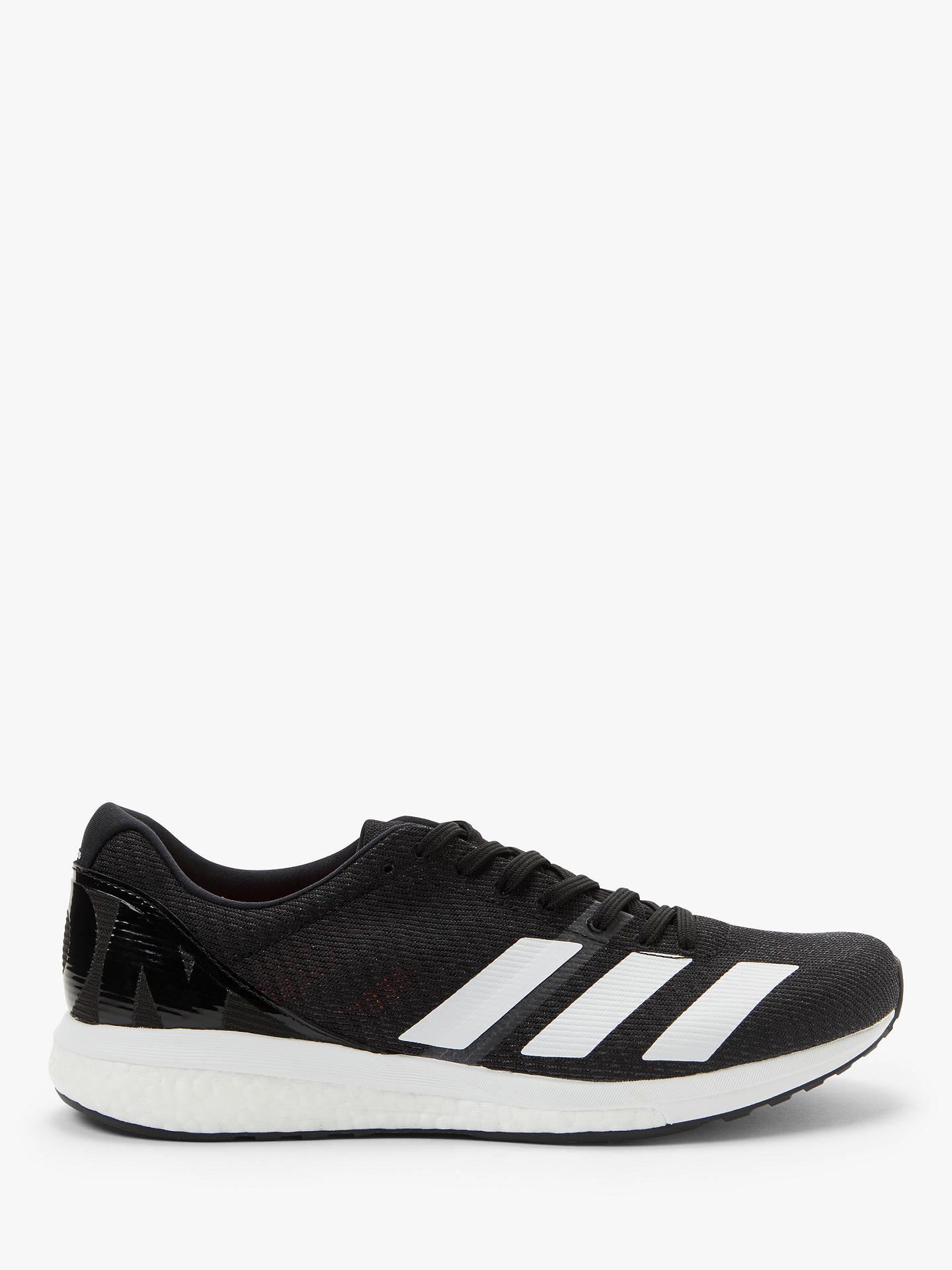 e0c8b13c951a Buy adidas Adizero Boston 8 Women's Running Shoes, Core Black/Cloud  White/Grey ...