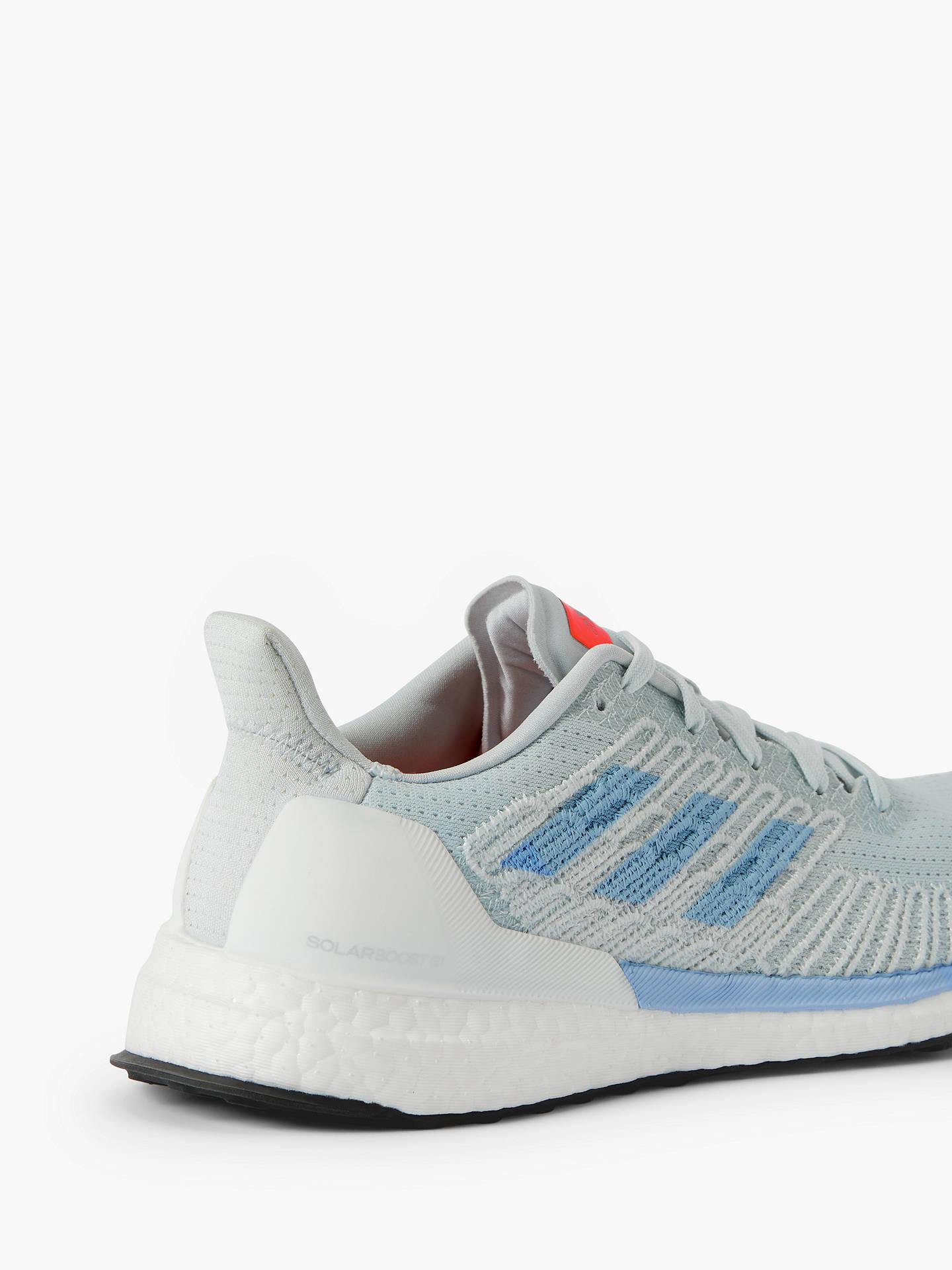 adidas Solar Boost 19 ST Women's Running Shoes, Blue TintGlow BlueSolar Orange