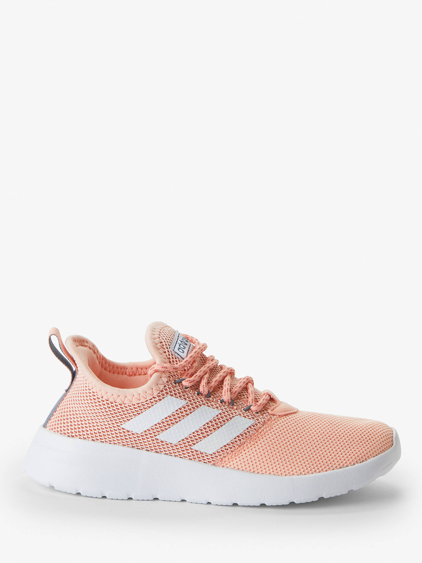 grande vente b96ed 0ac9d adidas Lite Racer RBN Women's Running Shoes, Glow Pink/Cloud White/Onix