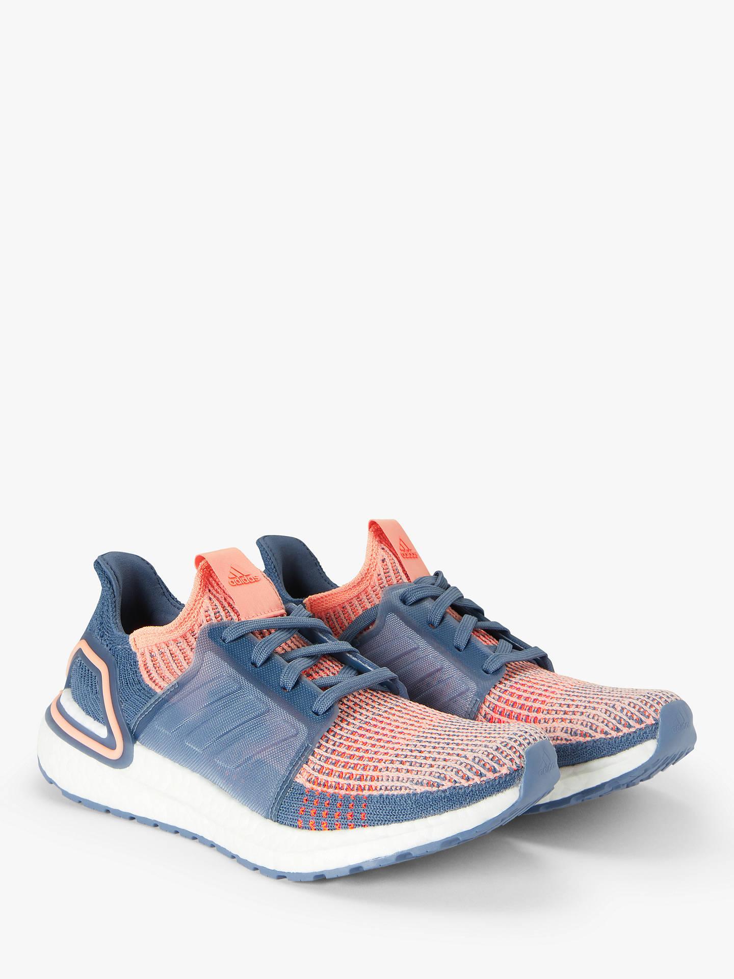 newest 6c57d 3dbc0 adidas UltraBOOST 19 Women's Running Shoes, Glow Pink/Tech Ink/Solar Orange