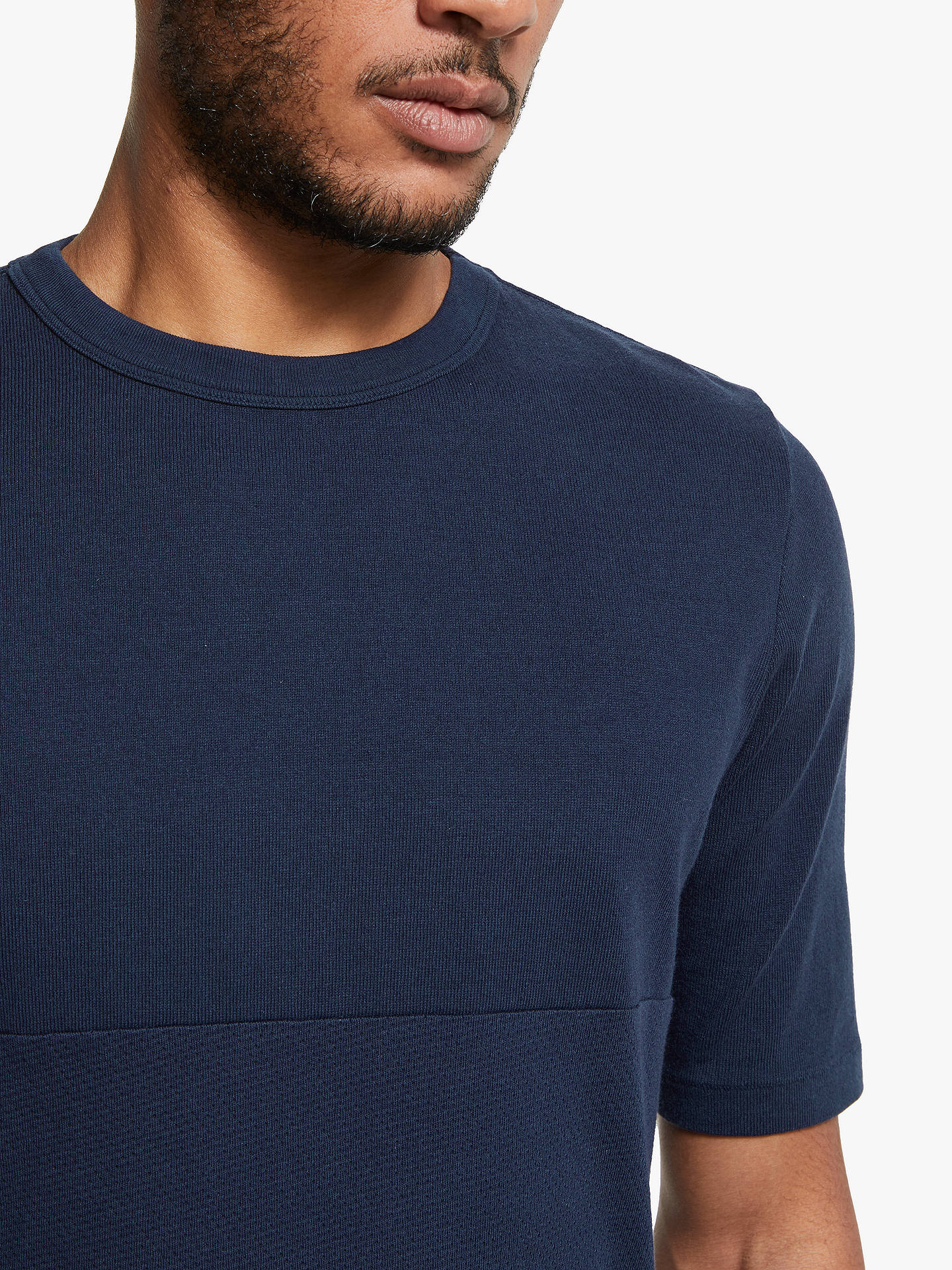Navy Football SS T Shirt