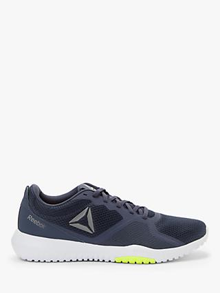 Reebok Flexagon Force Men's Cross Trainers, Heritage Navy/Solar Yellow/White